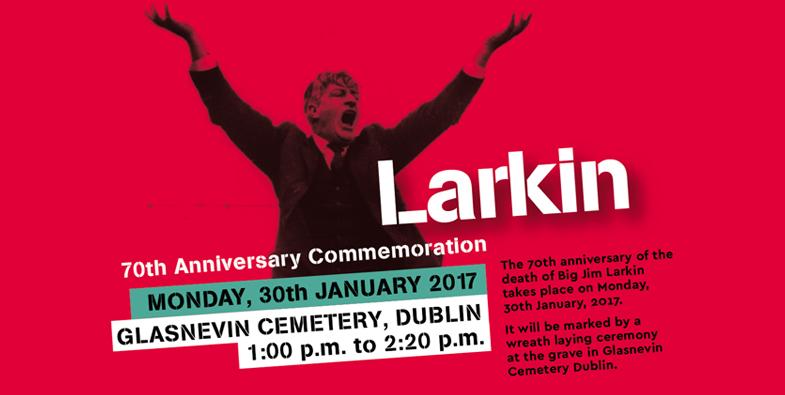 Larkin Commemoration