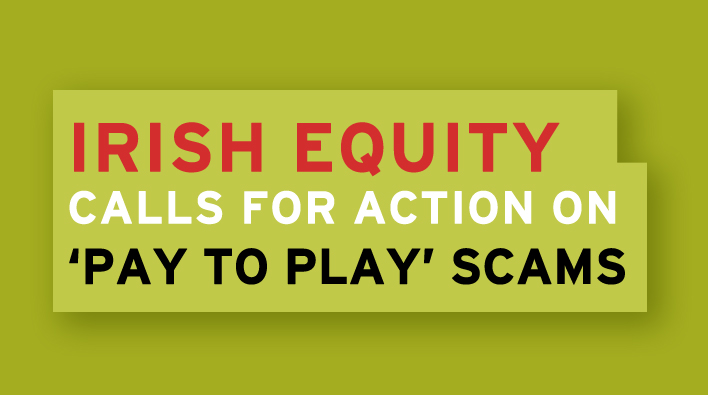 "Equity calls for action on ""pay to play"" scams"
