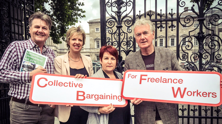 Irish Equity welcomes progress of Bill to return collective bargaining rights to freelance workers