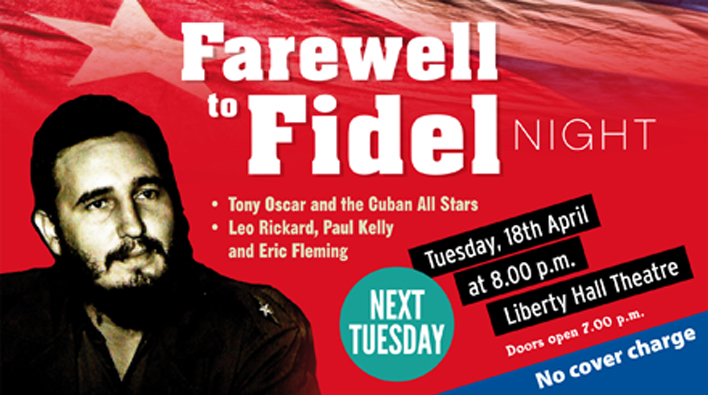 Farewell to Fidel Night