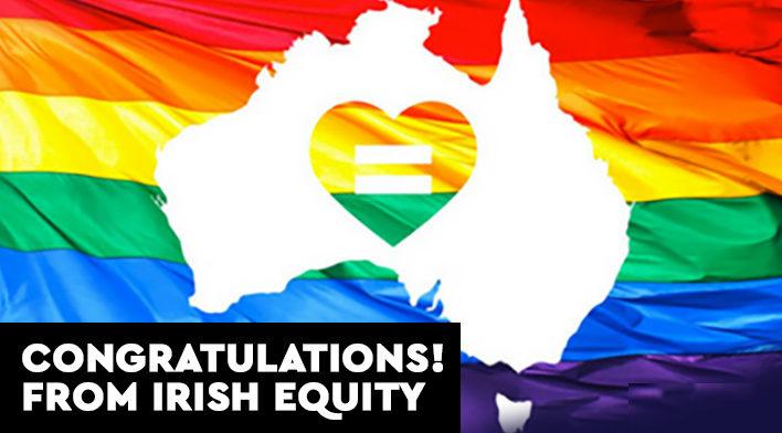 Congratulations to our friends inAustralia