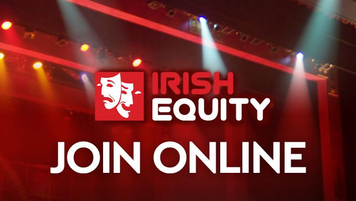 Join Irish Equity online