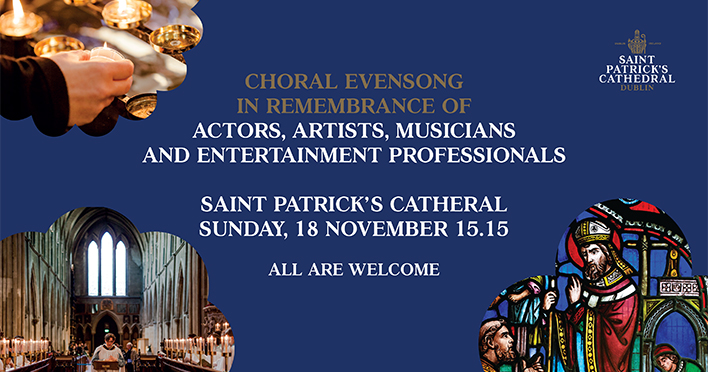Choral Evensong in Remembrance of Actors, Musicians and Artists